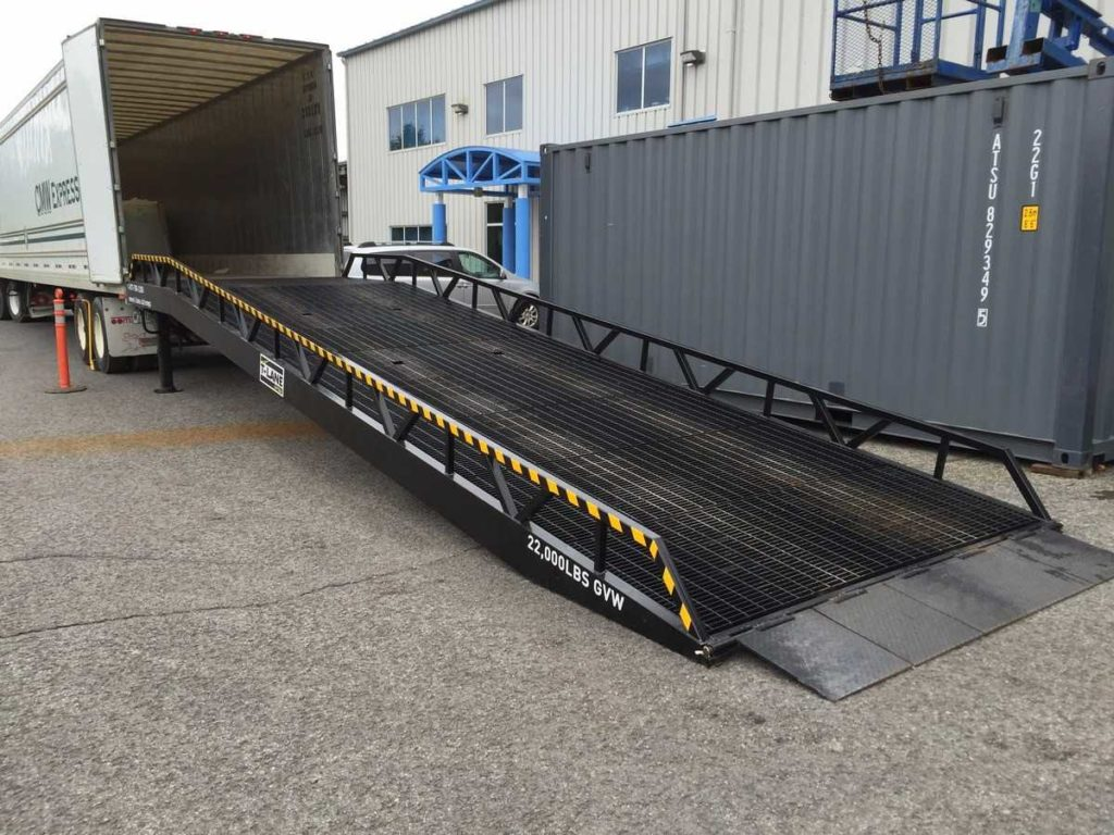 Portable Loading Dock Ramps Canada