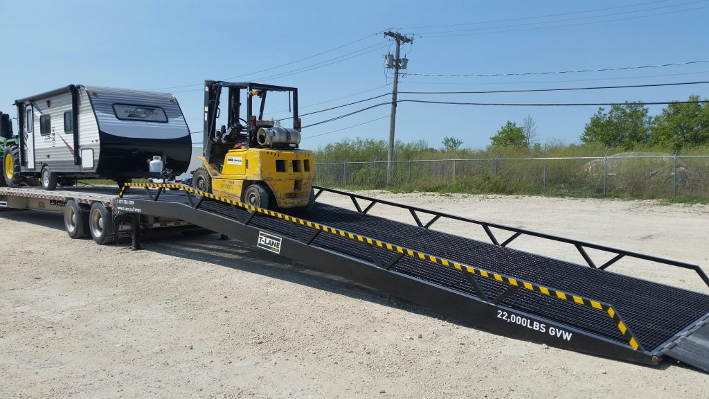 Portable Loading Dock Ramp