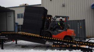 hexion portable loading dock ramp