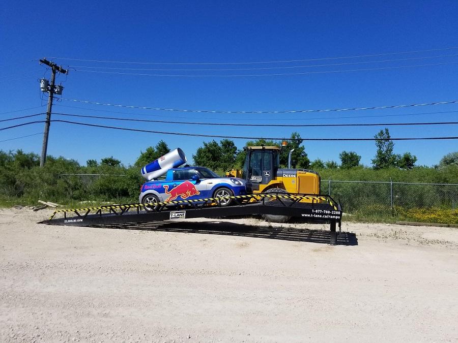 Forklift Truck Amp Steel Loading Ramps Portable Loading Dock